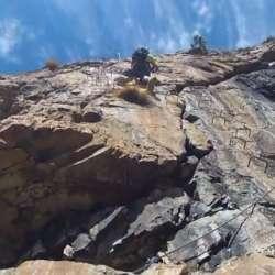 Via Ferrata Pierre Ronde Gorges de Sarenne, Alpe d'Huez