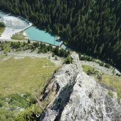 Via Ferrata Plan du Bouc, Champagny en Vanoise
