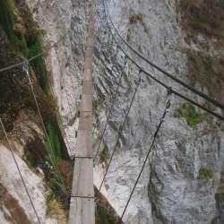 Via Ferrata de la Cascade et le Bastion, Pontamafrey